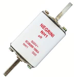 Fusível NH1 80A 500V ultra rápido